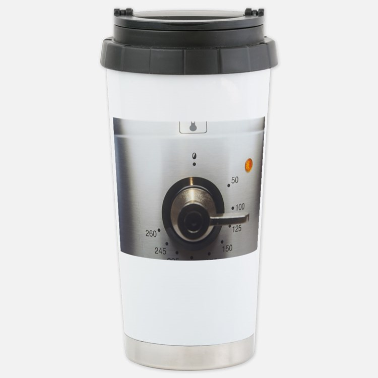 Electric oven dial Stainless Steel Travel Mug