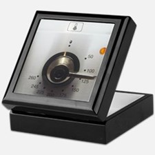 Electric oven dial Keepsake Box