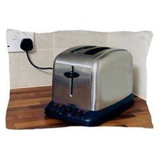 Electric toaster Pillow Case