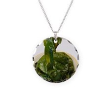 Edible seaweed Necklace Circle Charm