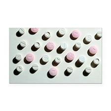 Ecstasy tablets Rectangle Car Magnet