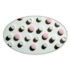 Ecstasy tablets Decal