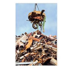 Scrap metal Postcards (Package of 8)
