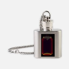 Drinks can X-ray Flask Necklace