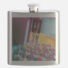 Sample for gas chromatography mass spectrome Flask