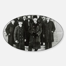 E. Rutherford in a group portrait a Decal