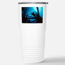 Scuba diver Travel Mug