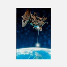 Satellite disposal Rectangle Magnet