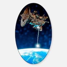 Satellite disposal Decal