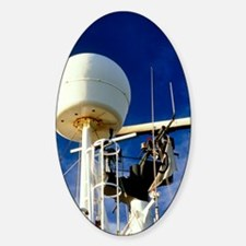 Satellite receiver on board the Gol Decal