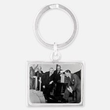 E. Rutherford at the Road Resea Landscape Keychain