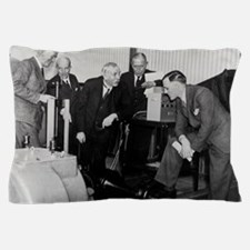 E. Rutherford at the Road Research Lab Pillow Case