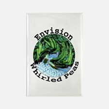Envision Whirled Peas Rectangle Magnet