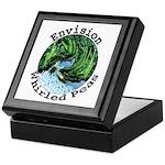 Envision Whirled Peas Keepsake Box