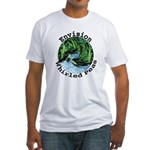 Envision Whirled Peas Fitted T-Shirt