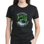 Envision Whirled Peas Women's Dark T-Shirt