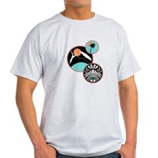 Hawaiian Tribal Surf Design T-Shirt