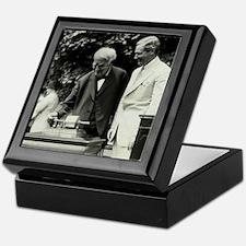 Edison and his phonograph Keepsake Box