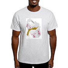 Chinese Take-out Ash Grey T-Shirt