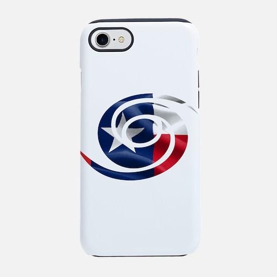 Texas Hurricane Symbol iPhone 7 Tough Case
