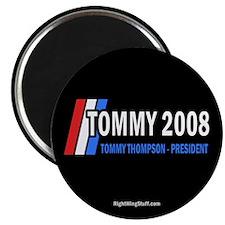 "Tommy Thompson for President '08 2.25"" Magnet (10"