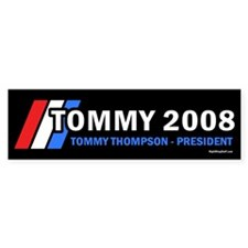 Tommy Thompson for President '08 Bumper Bumper Sticker