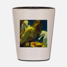 Seahorses Shot Glass