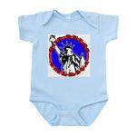 God Bless America Patriotic Infant Creeper