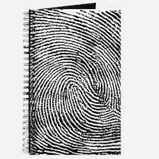 Enlarged fingerprint Journal