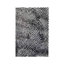 Enlarged fingerprint Rectangle Magnet