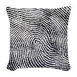 Fingerprint Woven Pillows