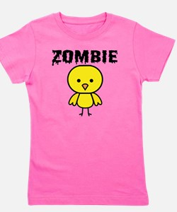 Zombie Chick Girl's Tee