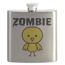 Zombie Chick Flask