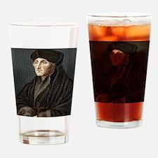Erasmus, Dutch theologian Drinking Glass