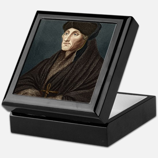 Erasmus, Dutch theologian Keepsake Box