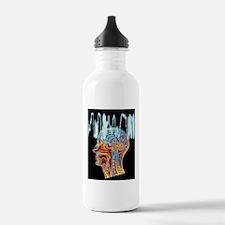 Epilepsy: MRI brain sc Water Bottle
