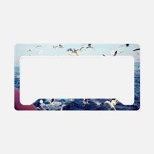 Seagulls License Plate Holder