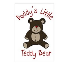 Daddys Teddy Bear Postcards (Package of 8)