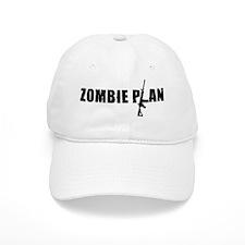 Zombie Plan for Zombiekamp.com Baseball Cap