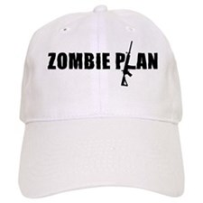 Zombie Plan Black Baseball Cap
