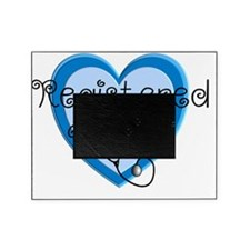 RN heart Blue Stetho cap Picture Frame