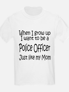 WIGU Police Mom Kids T-Shirt