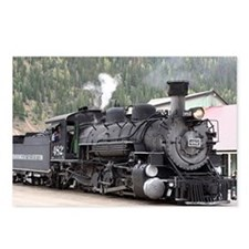 Steam Train: Colorado Postcards (Package of 8)