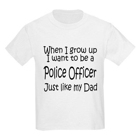 WIGU Police Dad Kids T-Shirt