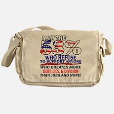 I Am The 53% Messenger Bag