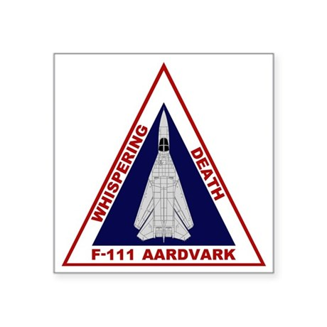 """111 Aardvark - Whispering Square Sticker 3"""" x 3"""" by Admin_CP20428695"""