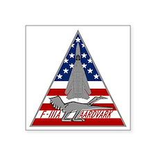 """F-111A Aardvark Square Sticker 3"""" x 3"""""""