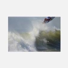 Quicksilver Surfing Rectangle Magnet