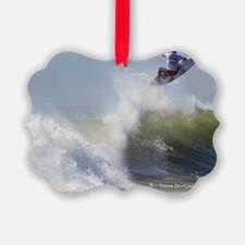 Quicksilver Surfing Ornament