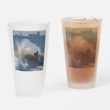 Quicksilver Surfing Drinking Glass